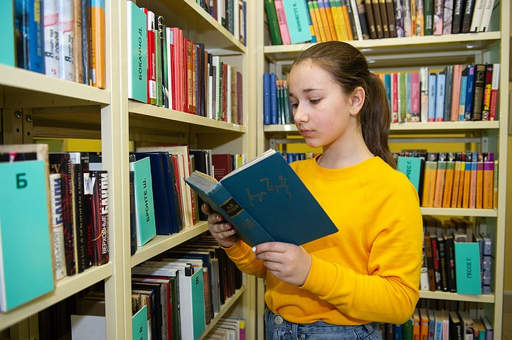 Первая умная полка появится в библиотеке Ахматовой в 2020 году