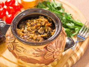 Утка с гречкой в горшочках - Очень вкусное блюдо!