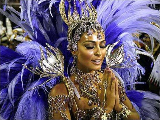Бразильский карнавал: экзотика афро-стиля