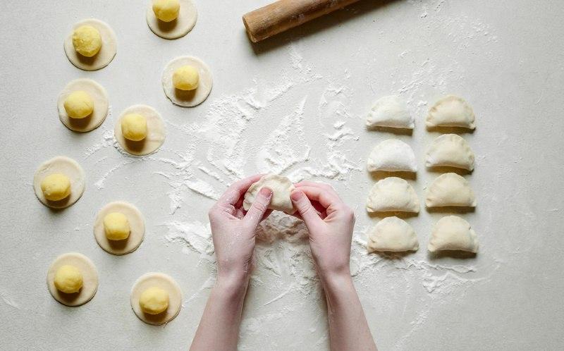 как быстро сделать вареники с картошкой