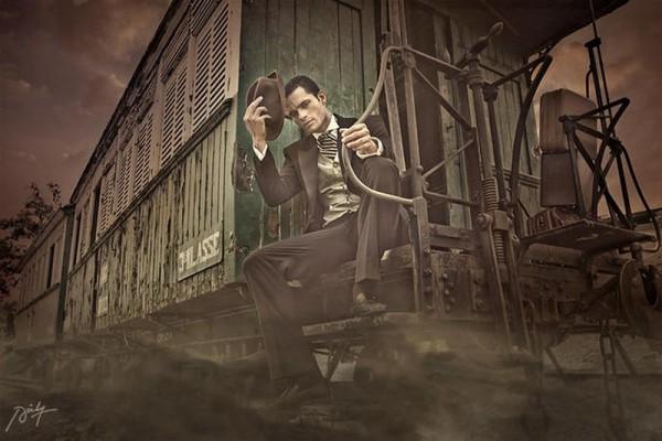 Он, она и поезд. История любви