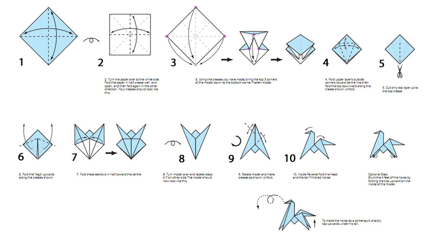 Оригами или бумаги оригинал детские