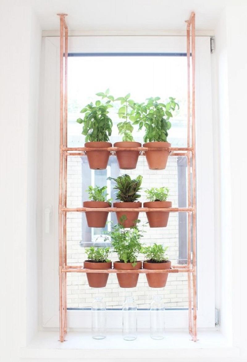Полочки для цветов своими руками на окно