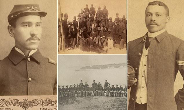 """Исторические фото """"Солдат Буффало"""", первых афроамериканцев-участников войны"""
