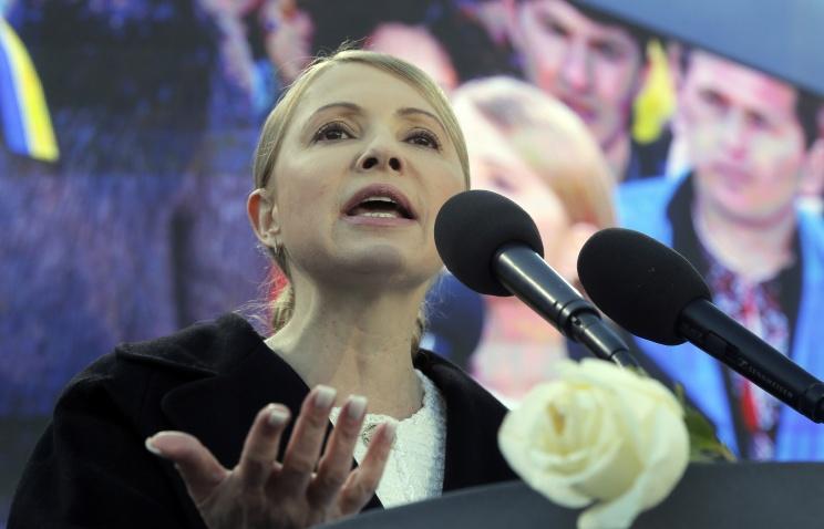 Тимошенко обратилась к Конгрессу США за военной помощью