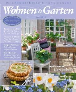Wohnen und Garten №4 2013 (дом и сад)