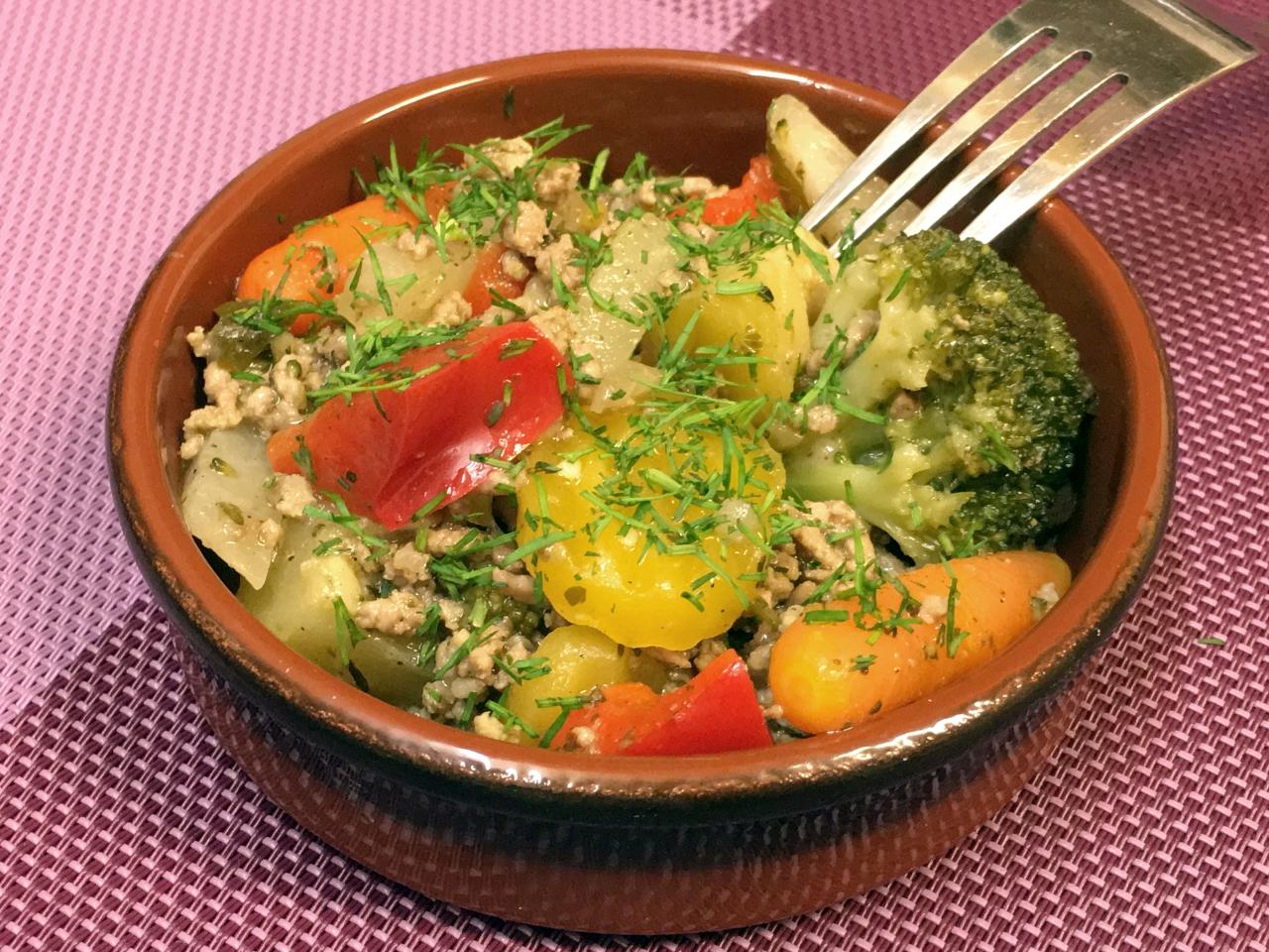 Bauerngemüse или Овощи по-крестьянски