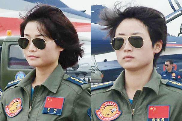 Первые женщины появились в пилотажной группе китайских ВВС