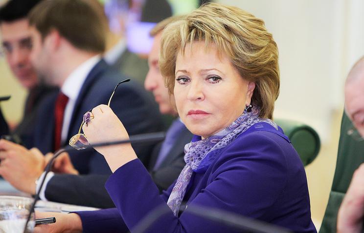 Валентина Матвиенко: «Закон Димы Яковлева» может быть отменен