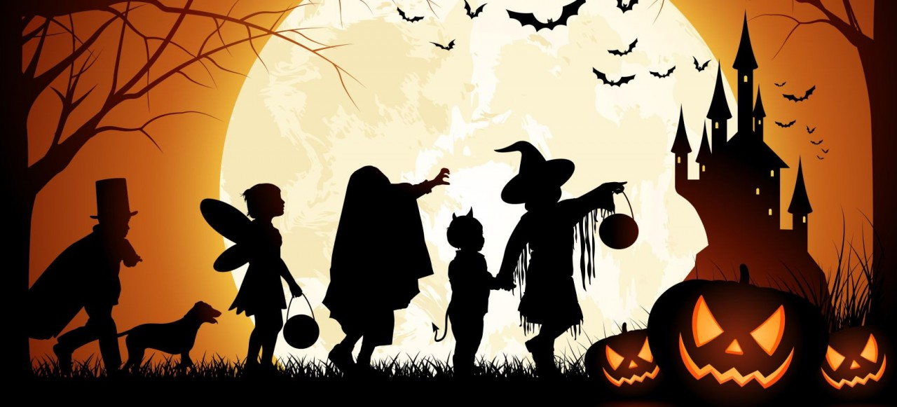Хеллоуин-Самхейн ночь Ведьм