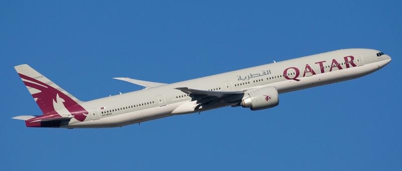 В самолетах Qatar Airways по…