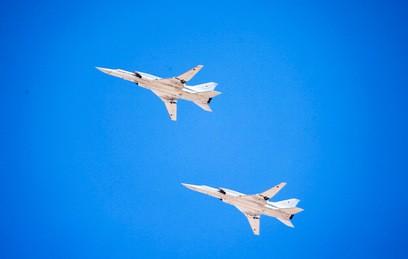 Ту-22 нанесли удар по боевикам в Сирии. Видео
