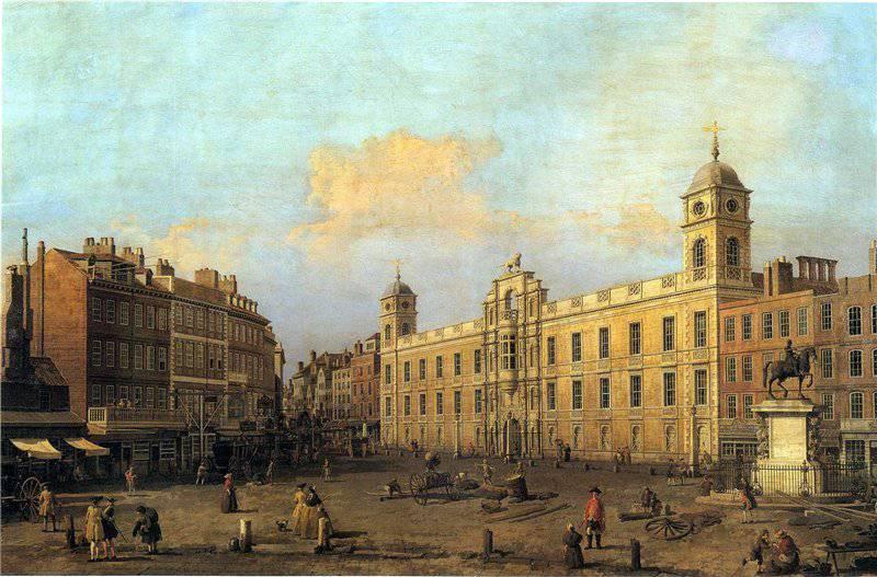 Лондон от Семнадцатого века до наших дней.Прекрасная живопись ...