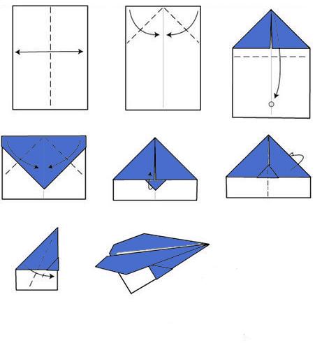 Как сделать самолетик из бумаги простой видео - ТД Мануфактура