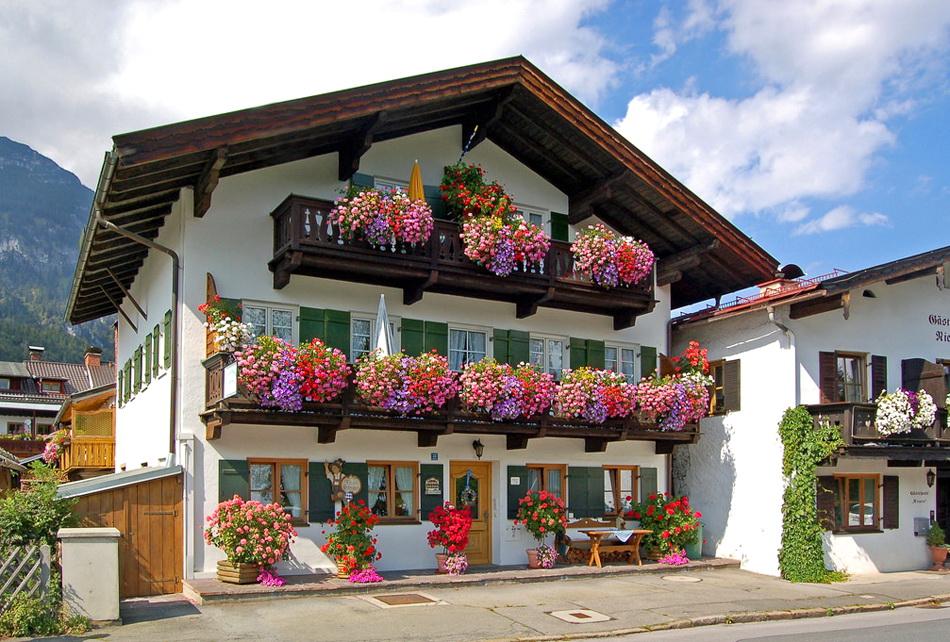Самый красивый из Альпийских городов — Гармиш-Партенкирхен. Германия