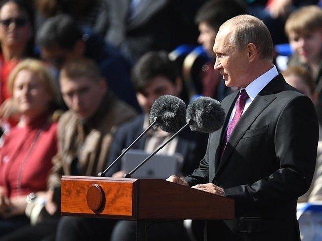 Путин заявил, что Москва заслужила «почитание граждан России»