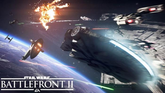 Star Wars Battlefront II: демонстрация целой битвы на звёздных истребителях с gamescom 2017