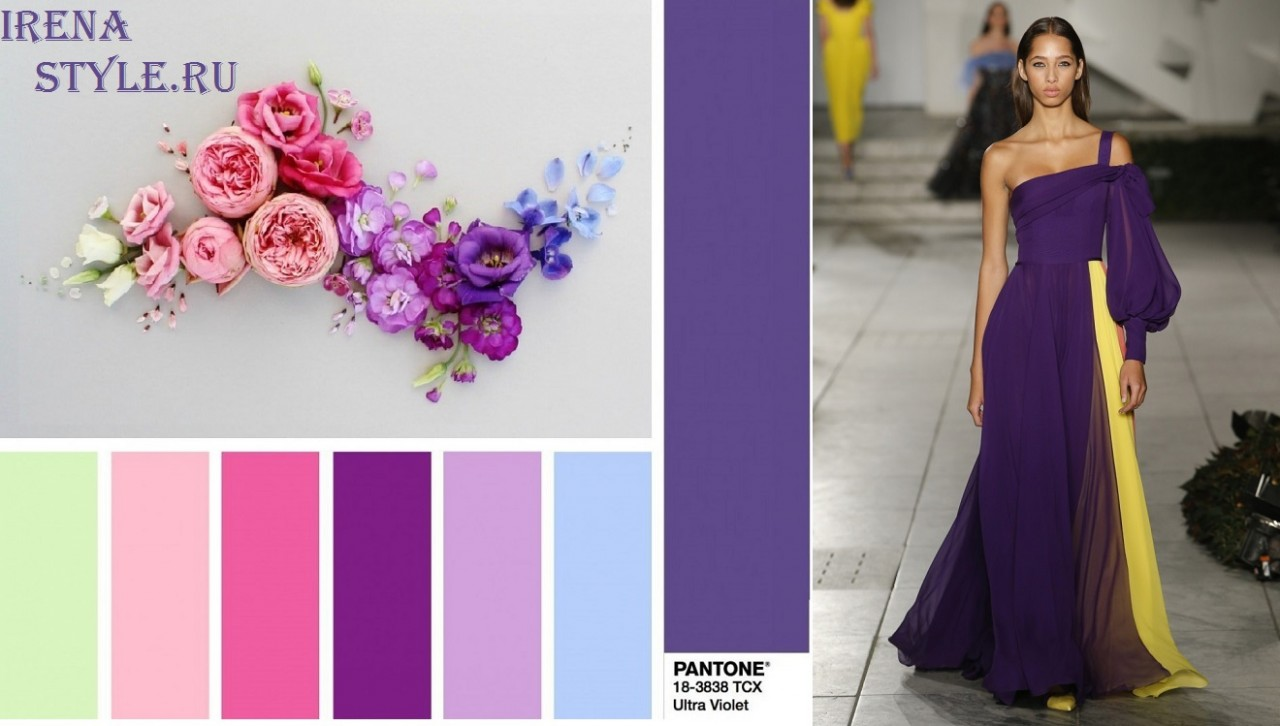 Самые модные цвета весна-лет…