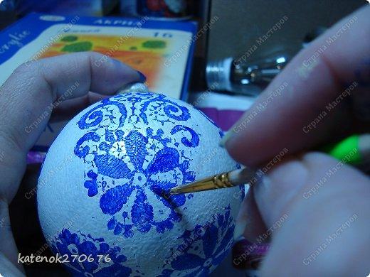 Мастер-класс Новый год Моделирование конструирование Новогодние шарики МК фото 10