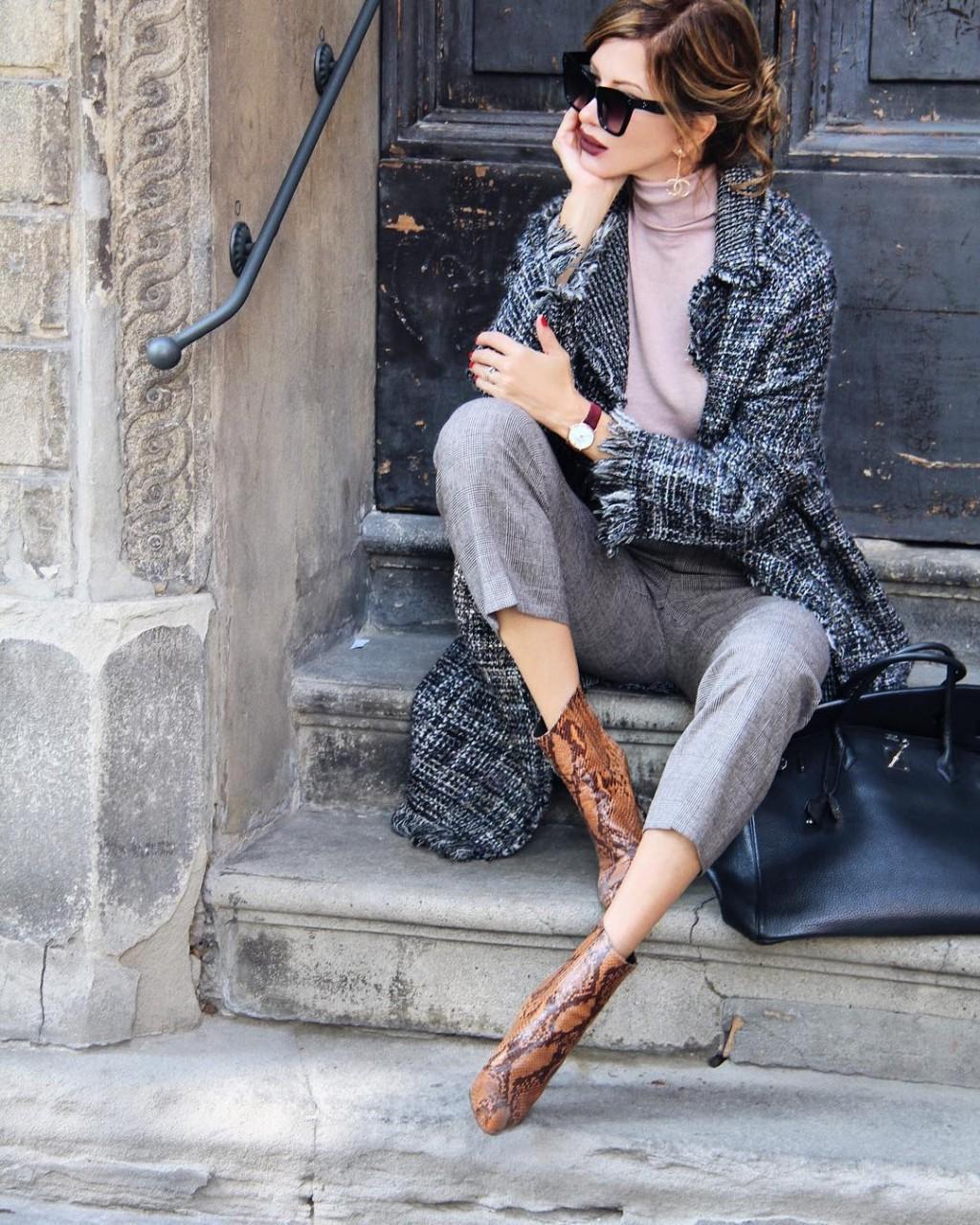 Как подобрать сумку к обуви: стильные образы