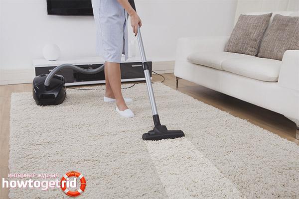 Эффективная чистка ковров в домашних условиях