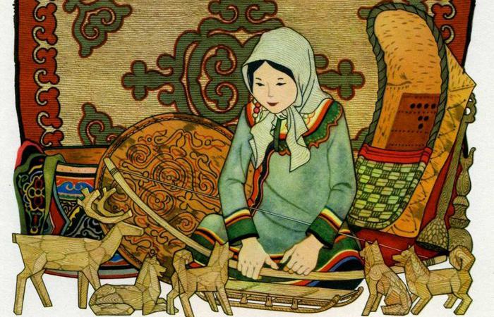 Амурские сказки: Маленькая Эльга. Автор: Геннадий Павлишин.