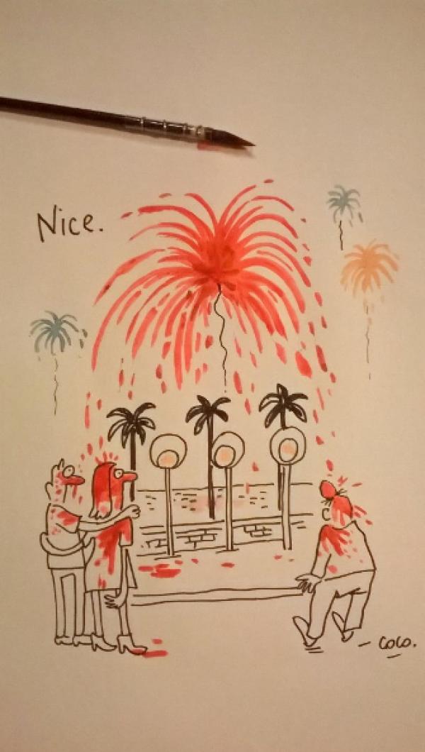 ��������� ���������� �� ������ � ����� �� Charlie Hebdo