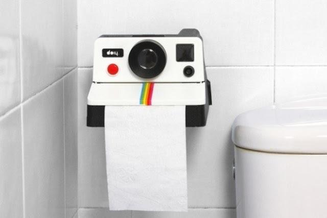 Держатель туалетной бумаги для фотографа