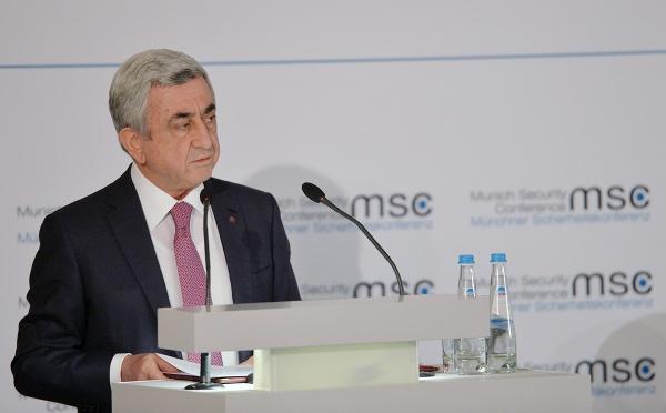 Серж Саргсян: Проблема Нагорного Карабаха должна решиться как можно быстрее