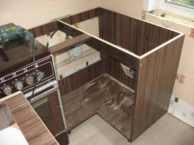 Шкаф для кухни своими руками видео