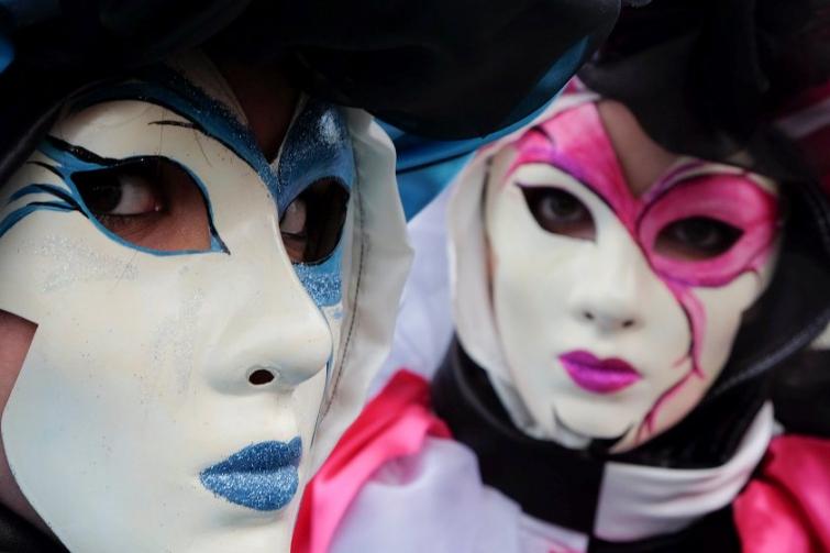 Венецианский карнавал 2014 - праздник ярких костюмов и невероятных образов