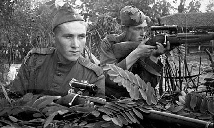 Как посвящали в снайперы на Великой Отечественной войне