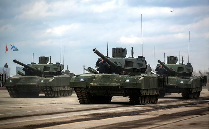Танк «Армата» напугал не только врагов, но и правительство РФ