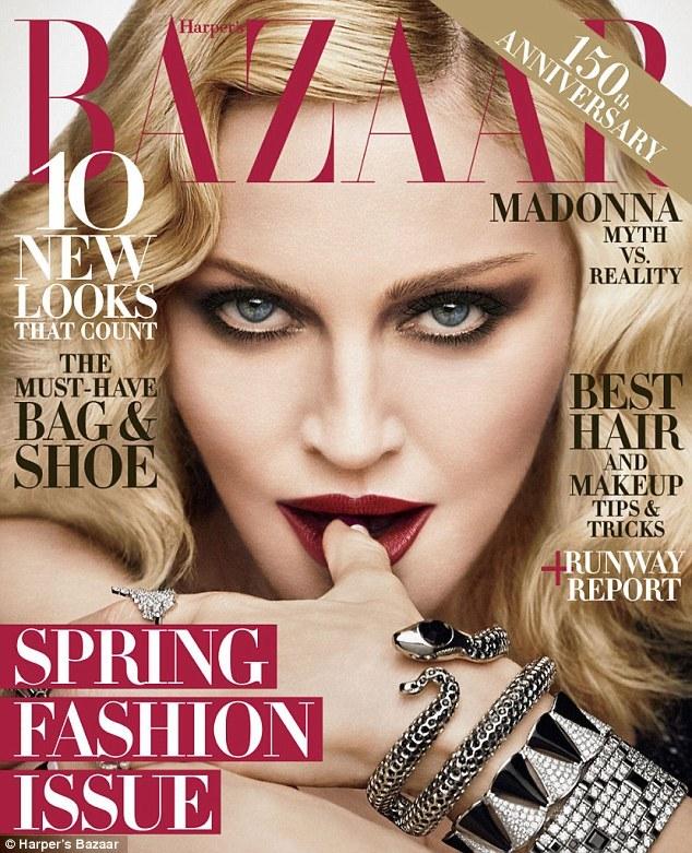 58-летняя Мадонна разделась для журнала, но фотошоп зашкаливает — фото
