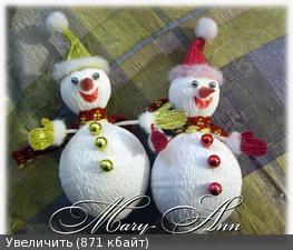 МК «Снеговик» от Анна-Мария(Sova A )