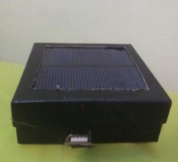 Самодельное зарядное устройства на солнечной батарее