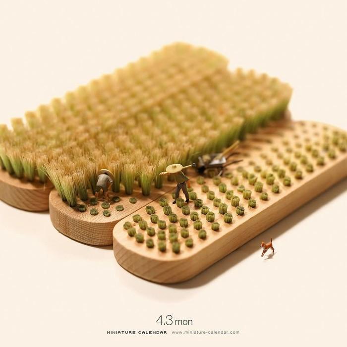 Маленькие чудеса – жизнь в миниатюрах от Танака Тацуя маленькие люди, миниатюра, фигурка, фотография, жизнь, хобби, длиннопост