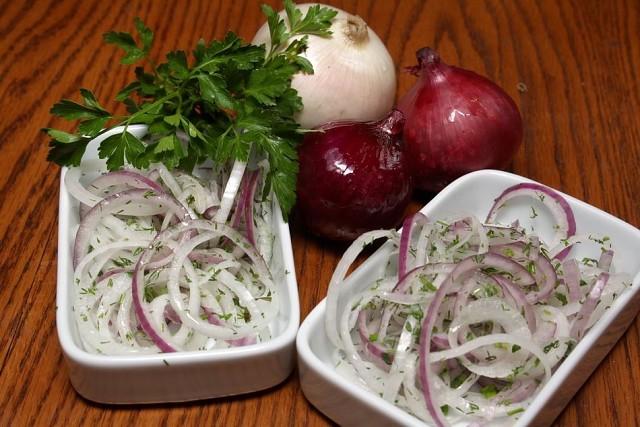 Маринованный лучок для шашлыка, салатов и просто с хлебушком