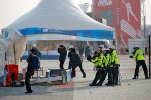 Олимпийский парк в Канныне закрыт до конца дня из-за сильного ветра