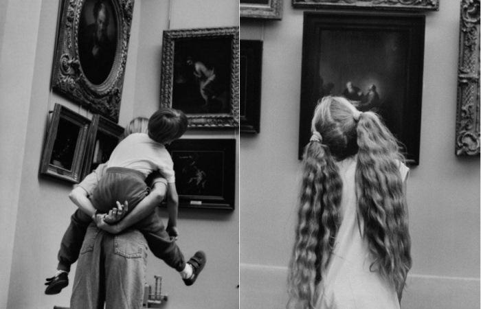 Лувр и его посетители: Фотограф собрал уникальную коллекцию снимков за 40 лет