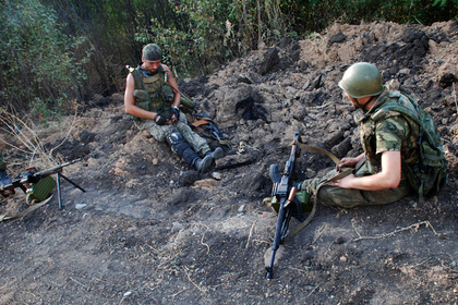 Ополченцы откликнулись на призыв Путина