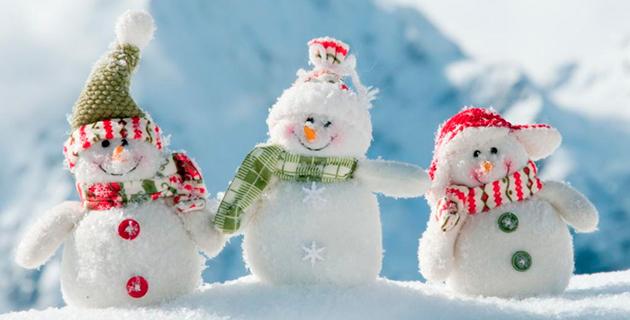 Из-за шествия снеговиков сег…