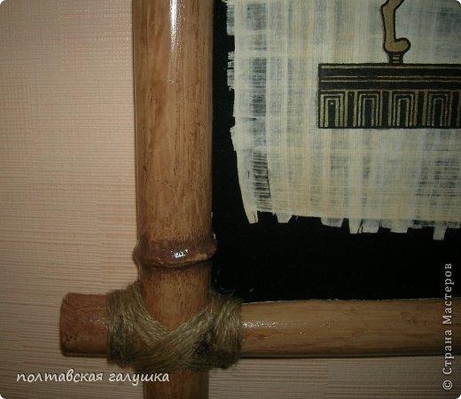 Мастер-класс Рама паспарту Моделирование конструирование Как самому сделать бамбук? Легко Материал бросовый фото 9
