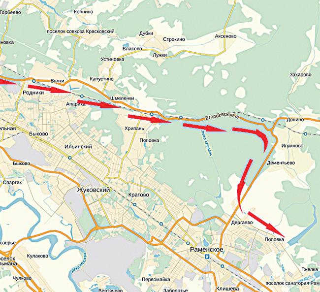рыбалка в подмосковье бесплатные водоемы на карте в районе раменское