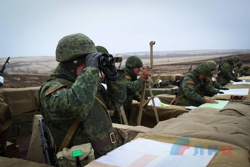 Марочко: НМ ЛНР готова к любым агрессивным действиям Украины