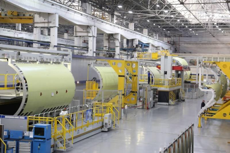 Россия работает над созданием композитов для самолёта МС-21