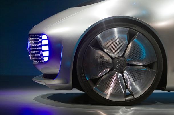 Mercedes представил автомобиль будущего