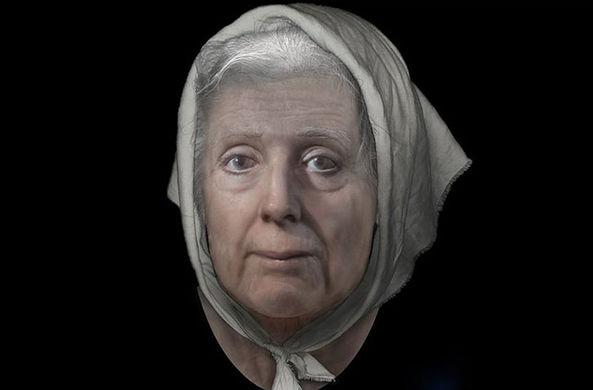 Ученые воссоздали лицо шотландской «ведьмы»