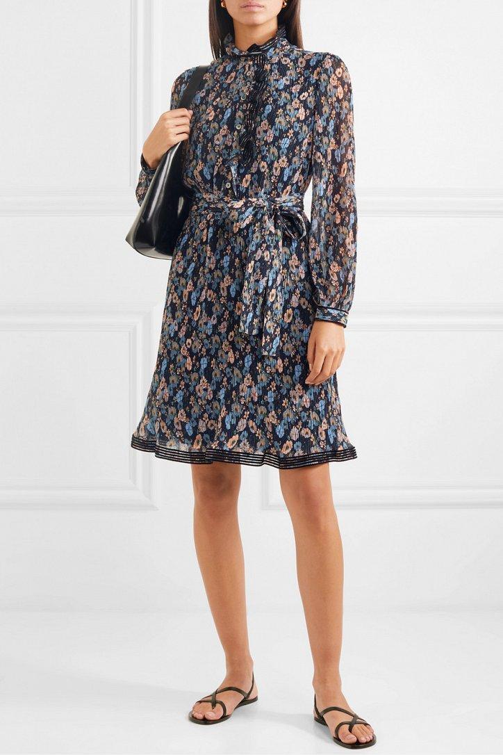 Платья с цветочным принтом - наш ответ серым осенним будням фото №11