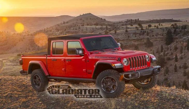 фото Jeep Gladiator 2019-2020